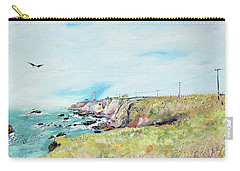 To The Lighthouse  Tribute To Virginia Woolf Carry-all Pouch
