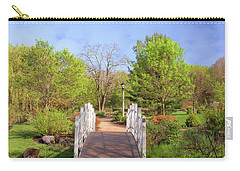 Carry-all Pouch featuring the photograph To The Other Side Of Spring by Angie Tirado