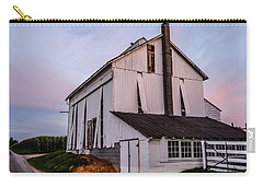 Tobacco Barn At Dusk Carry-all Pouch