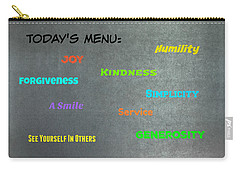 Today's Menu #2 Carry-all Pouch