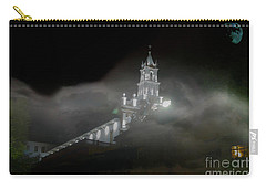 Carry-all Pouch featuring the photograph Todos Santos In The Fog by Al Bourassa