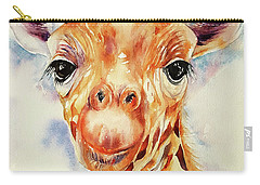 Toffee Giraffe Carry-all Pouch
