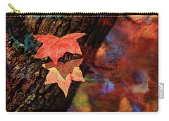 Carry-all Pouch featuring the photograph Together II by Toni Hopper