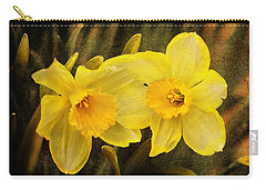 Carry-all Pouch featuring the photograph Together  by Trina Ansel