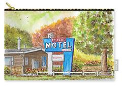 Toiyabe Motel In Walker, California Carry-all Pouch by Carlos G Groppa
