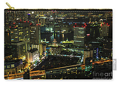 Tokyo Cityscape And Bay Area Carry-all Pouch