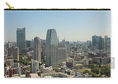 Tokyo Skyline Carry-all Pouch by Jacob Reyes