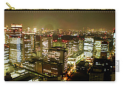 Tokyo Skyline Carry-all Pouch by Nancy Ingersoll
