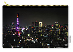 Tokyo Tower Cityscape Carry-all Pouch