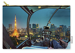 Tokyo Tower Helicopter Carry-all Pouch