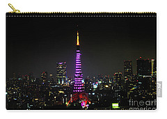 Tokyo Tower Night Carry-all Pouch