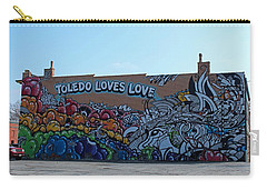 Carry-all Pouch featuring the photograph Toledo Loves Love by Michiale Schneider