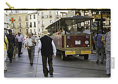 Carry-all Pouch featuring the photograph Toledo Man 2 - Spain by Madeline Ellis
