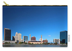 Carry-all Pouch featuring the photograph Toledo Skyline I by Michiale Schneider