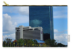 Carry-all Pouch featuring the photograph Toledo's Waterfront I by Michiale Schneider