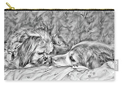 Carry-all Pouch featuring the photograph Tolerance by Rhonda McDougall