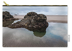 Tolovana Beach At Low Tide Carry-all Pouch