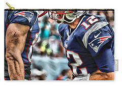Tom Brady Art 4 Carry-all Pouch