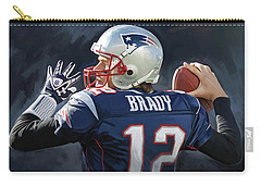 Tom Brady Artwork Carry-all Pouch