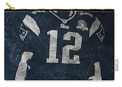 Tom Brady Patriots 4 Carry-all Pouch