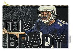 Tom Brady Carry-all Pouch by Taylan Apukovska