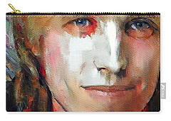 Tom Petty Tribute Portrait 3 Carry-all Pouch