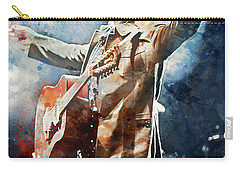 Tom Petty - Watercolor Portrait 13 Carry-all Pouch