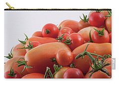 Carry-all Pouch featuring the photograph Tomato Hill by James BO Insogna
