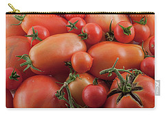 Carry-all Pouch featuring the photograph Tomato Mix by James BO Insogna