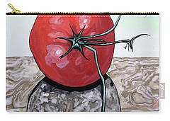 Tomato On Marble Carry-all Pouch by Mary Ellen Frazee