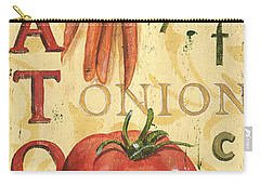 Tomato Soup Carry-all Pouch by Debbie DeWitt