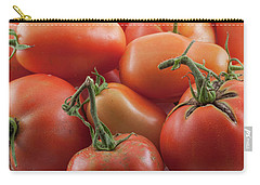 Carry-all Pouch featuring the photograph Tomato Stems by James BO Insogna