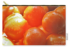 Carry-all Pouch featuring the photograph Tomato Tears by Barbara S Nickerson