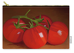 Tomatoes 01 Carry-all Pouch by Wally Hampton