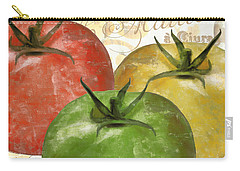 Tomatoes Tomates Carry-all Pouch by Mindy Sommers