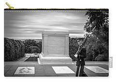 Carry-all Pouch featuring the photograph Tomb Of The Unknown Solider by David Morefield