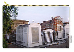 Tombs In St. Louis Cemetery Carry-all Pouch by Alys Caviness-Gober