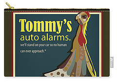 Tommy's Alarms Carry-all Pouch