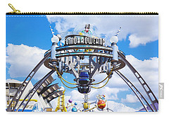 Carry-all Pouch featuring the photograph Tomorrowland by Greg Fortier