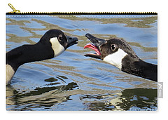 Talking Tongue Carry-all Pouch by Jennie Breeze
