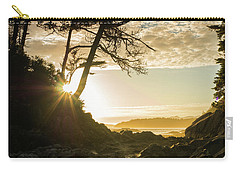 Carry-all Pouch featuring the photograph Tonquin Beach by Crystal Hoeveler