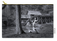 Too Cold For The Ducks Carry-all Pouch