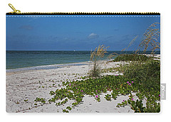 Carry-all Pouch featuring the photograph Too Much Space Between Us by Michiale Schneider