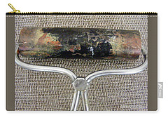 Carry-all Pouch featuring the sculpture Too Pretty To Wash Off by Nancy Kane Chapman