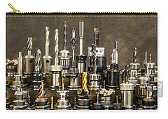 Toolmakers Cutting Tools Carry-all Pouch by Paul Freidlund
