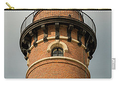 Carry-all Pouch featuring the photograph Top Of Little Sable Point Lighthouse by Adam Romanowicz