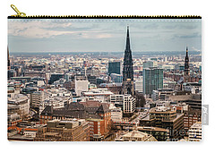 Top View Of Hamburg Carry-all Pouch