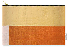 Topaz Pink Orange Carry-all Pouch