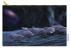 Topsail Starry Night  Carry-all Pouch by Betsy Knapp