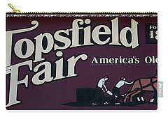 Topsfield Fair 1818 Carry-all Pouch